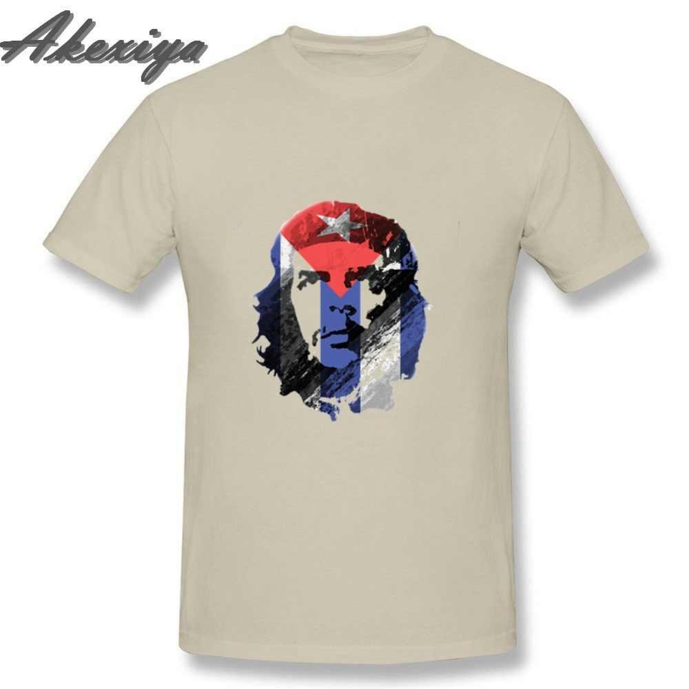 Мужские футболки Че Гевара Куба флаг Camisetas Топы корректирующие 2019 Джокер geek Супермен polera hombre 2018 мода негабаритных размеры футболка