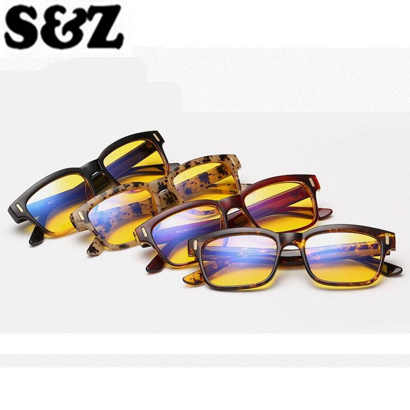New Arrival Eyewear Glassess Women Men Retro Anti Glare Blue Rays Gaming Glasses Anti Glare Computer Glass Mirror Glasses