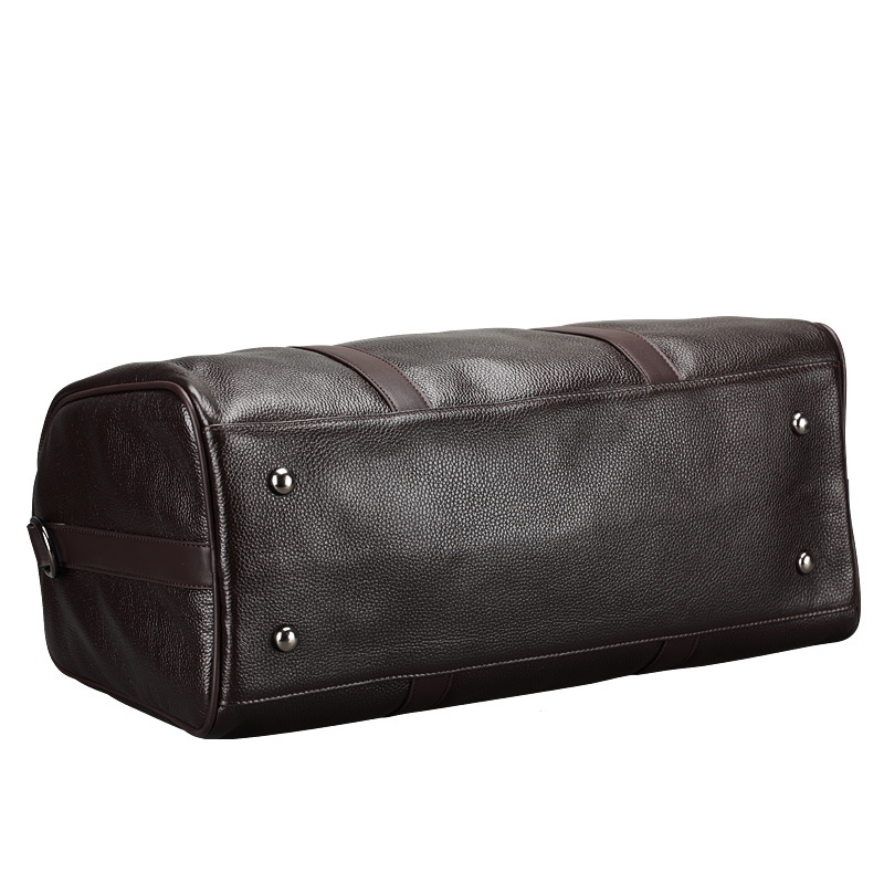 Brand Fashion Large Weekend Duffel Bag Big Genuine Leather ...