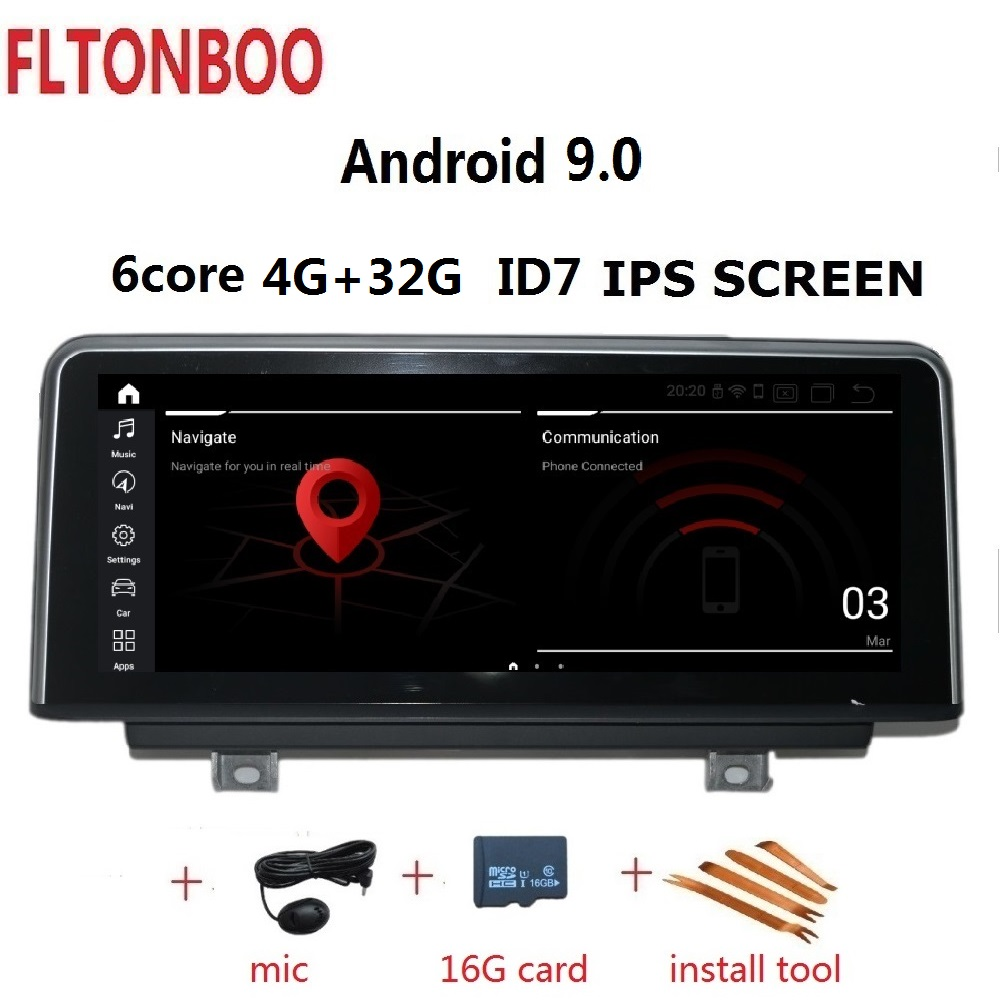 10 25 Android 9 0 Car Gps radio player navigation ID7 for BMW F20 F21 1series