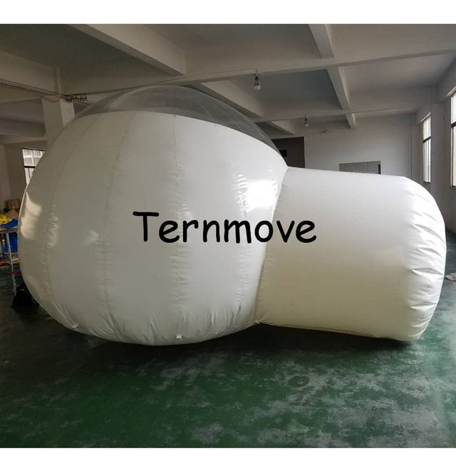 Inflatable Half Clear Bubble C&ing Dome Lawn Tent Inflatable Hiking Tents Bubble House Hotel Free Shipping night in nature & Online Shop Inflatable Half Clear Bubble Camping Dome Lawn Tent ...