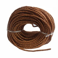 1Y Fashion Jewelry Natural Color Genuine Leather Cord For 5MM DIY Bracelets Bangles Necklace Jewelry Making