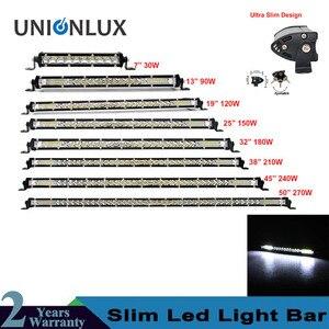 Ultra thin LED Light Bar Singl