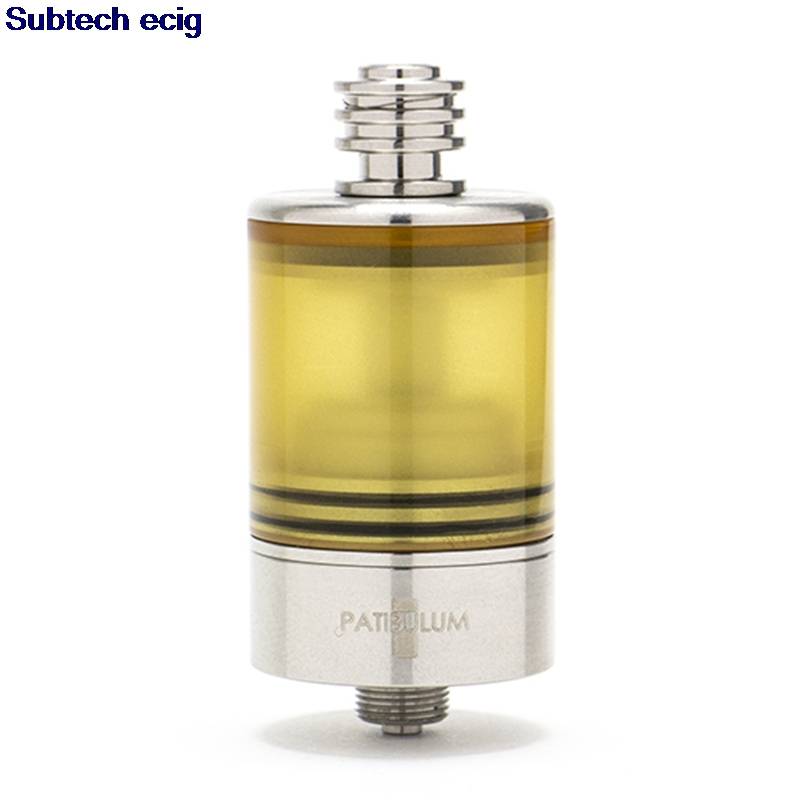 Newest Patibulum RTA MTL Tank 3.5ml Huge Atomizer 316ss 22mm Diameter 510 Thread Single Coil Disk Type AFC System Vape RTA RDA