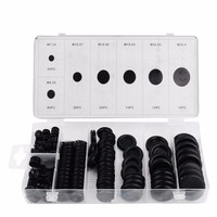 170pcs Rubber Grommet Firewall Hole Plug Set Car Electrical Wire Cable Gasket Kit Mayitr Hardware Tools