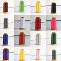 ГОРЯЧАЯ 16 цвет бисера Нейлон шелковый шнур автор линия 0.9 мм fit ожерелье ювелирных изделий B860