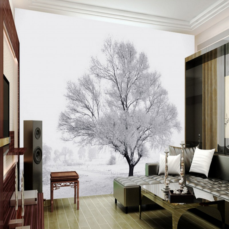 3D photo wallpaper Rime Island Television background wall painting ...
