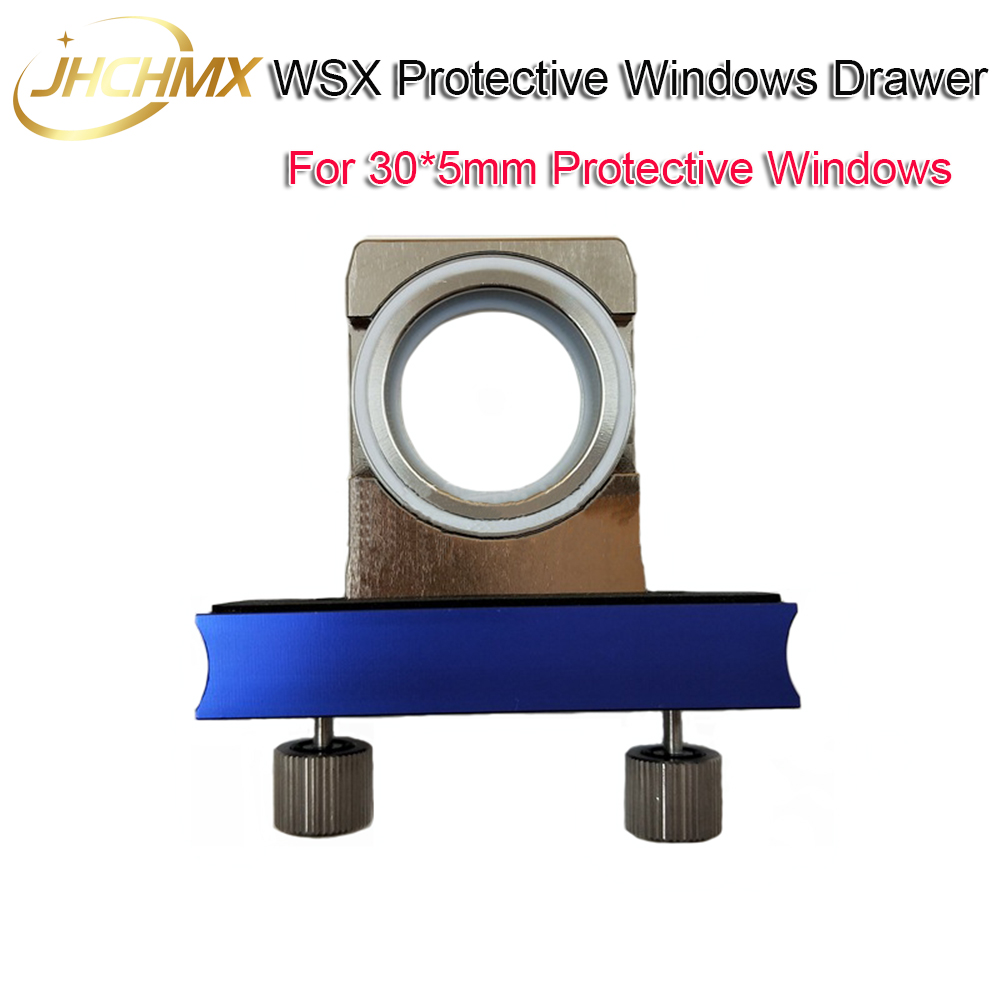 WXS Laser Cutting Head Parts 30*5mm Protective Windows Drawer Original Quality Protective Mirrors Holder 30*5mm Protection Lens