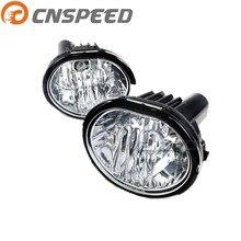 CNSPEED Авто Туман свет для 12 В Автомобильные противотуманные лампы прозрачные линзы бампер противотуманные фары вождения лампы мотоциклов YC100924
