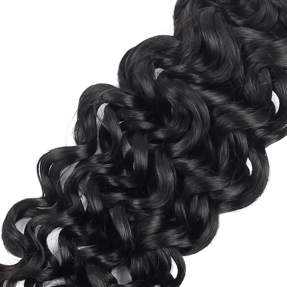 YVONNE cheveux brésiliens bouclés italiens armure paquets 3 pièces vierge cheveux humains armure couleur naturelle 8-28 pouces livraison gratuite - 5