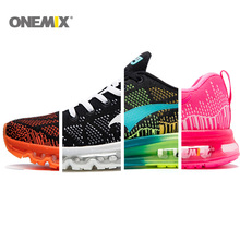 2016 Onemix Men's Sport Running Shoes Music Rhythm Women's Sneakers Mesh Outdoor Athletic Shoe Free Fast Shipping +5$ By DHL
