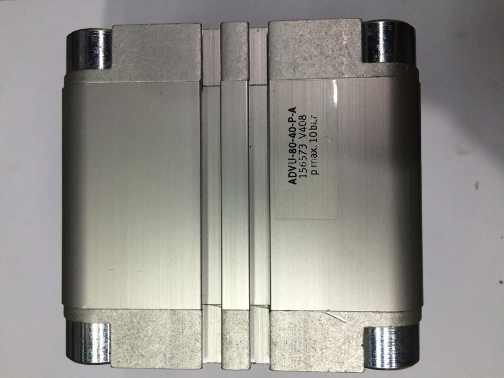 FESTO imported cylinder ADVU80-40-P-A festo cylinder beijing festo pneumatic dsw 32 80 p a b sales order