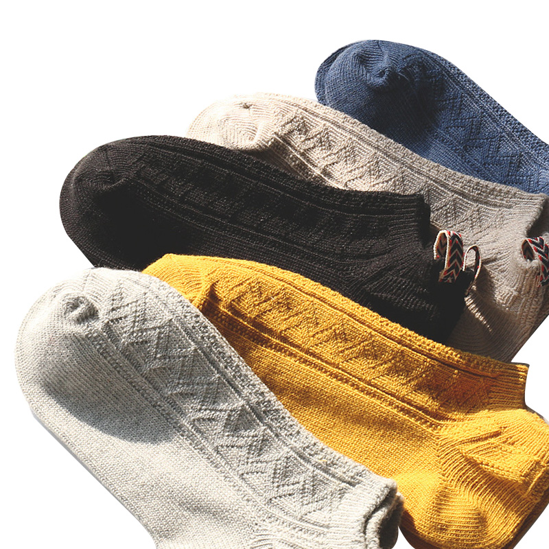 Knowledgeable 6 Pairs/lot Men Socks Summer Spring A Variety Of Color All-match Neutral Ankle Sock Comfortable Solid Color Cotton Female Meias Ample Supply And Prompt Delivery Men's Socks