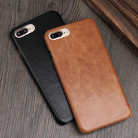 TAOZHULI 026 Matte Color Case For IPhone 7 7 Plus Vintage Genuine Leather Cases For Iphone