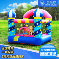 2 5 children's inflatable swimming pool castle indoor home swimming pool trampoline kids toys outdoor children's playground