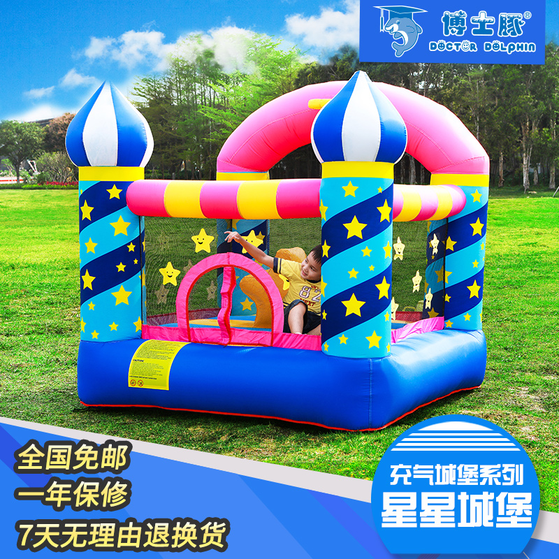 2-5 Children's Inflatable Swimming Pool Castle Indoor Home Swimming Pool Trampoline Kids Toys Outdoor Children's Playground
