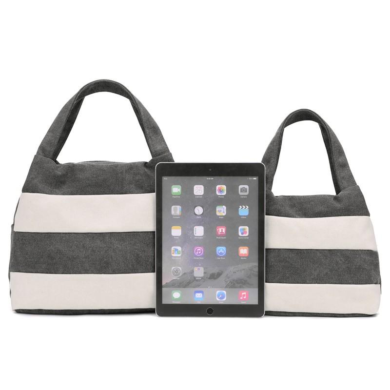 Famous Brand Women Shoulder Bag Casual Canvas Shopping Tote Bags Handbag for Women Beach Totes Shoulder Bag Hobos Bolso Mujer (9)