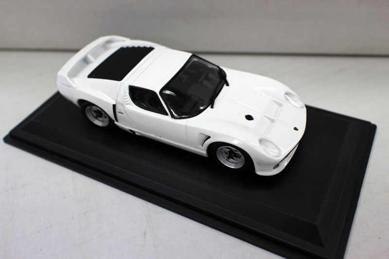 Оригинальная фабрика 1:43 Miura SVJ Roadster 1981 бутик игрушечный автомобиль из сплава для детей игрушки Модель оригинальная коробка