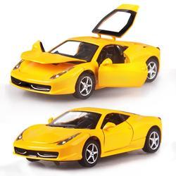 1:32 сплава модели автомобилей для мальчиков Игрушечные лошадки Четыре цвета металла классический сплав игрушечный автомобиль 14 х 6.5 х 4 см