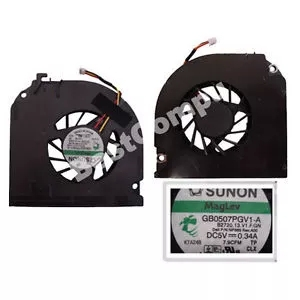 Zonnig Cpu Cooler Cooling Fan Voor Dell Latitude D820 D830 D531 M65 M4300 M6300 1531 Pp04x Gb0507pgv1-a Dq5d576f500 Np865 Udqfzzr23cqu