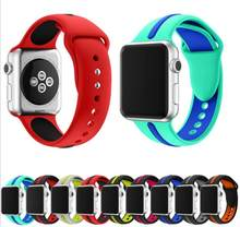 Gummi Silikon strap Für Cartier frauen iphone rolle männer x Apple smart watch band weiche 38mm 42mm sport Armband iwatch gürtel 3 2(China)