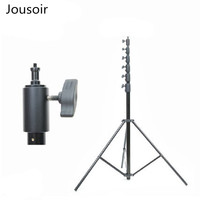 6 m 5 section heavy duty light stand metal aluminum alloy lamp holder photography foot frame LM 6000HA CD5|Light Stand|Consumer Electronics -