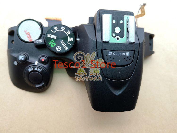 95% Original pour Nikon D5600 cadre de boîtier de couverture supérieure avec bouton de câble de Mode de cadran Flash