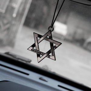 Car Ornaments Metal Unique Six