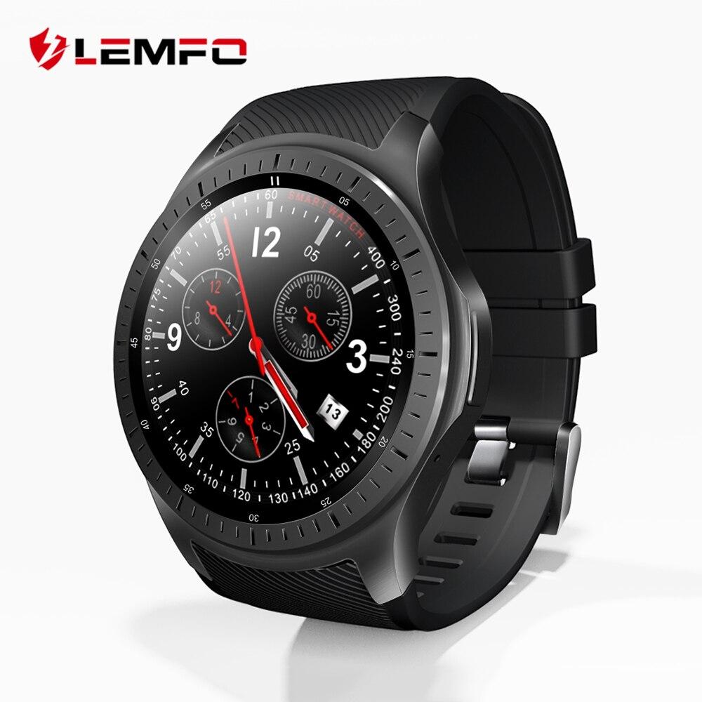 LEMFO LF25 4G 1,3 дюймов ips HD Дисплей Смарт Часы Android 7.1.1 gps Bluetooth 1 Гб + 16 600 мАч большой батарея спортивные Smartwatch для мужчин