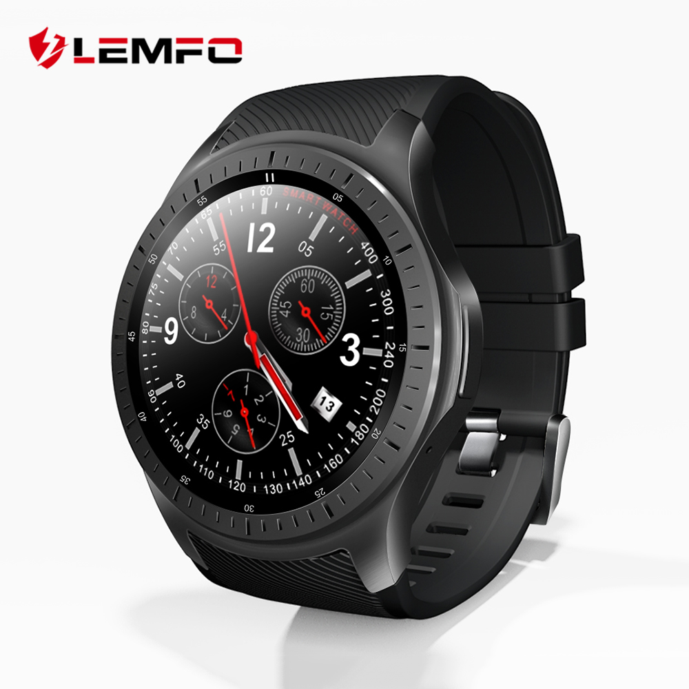 LEMFO LF25 4G 1.3 Inch IPS HD Display Smart Watch Android 7.1.1 GPS Bluetooth 1G