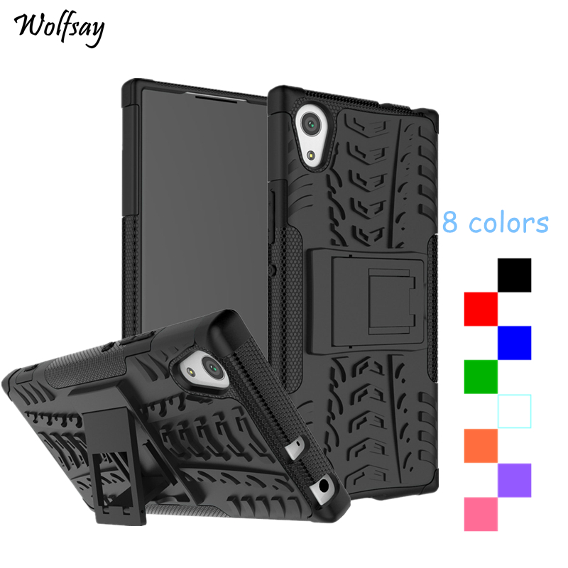 Cover For <font><b>Sony</b></font> Xperia XA1 Case Fashion Thick Silicone Hybrid Armor Phone Case For <font><b>Sony</b></font> Xperia XA1 G3121 <font><b>G3112</b></font> G3125 G3116 G3123 image