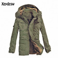 Canada Goode Winter Jacket Men Breathable Warm White Duck Down  Male Parka Medium-long Thickening Parkas Outerwear Jacket Coat