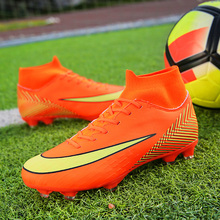 e39a53f6d31 New Design Adults Men s Professional Superfly 6 Pro CR7 AG Soccer Shoes  High Top Football Boots