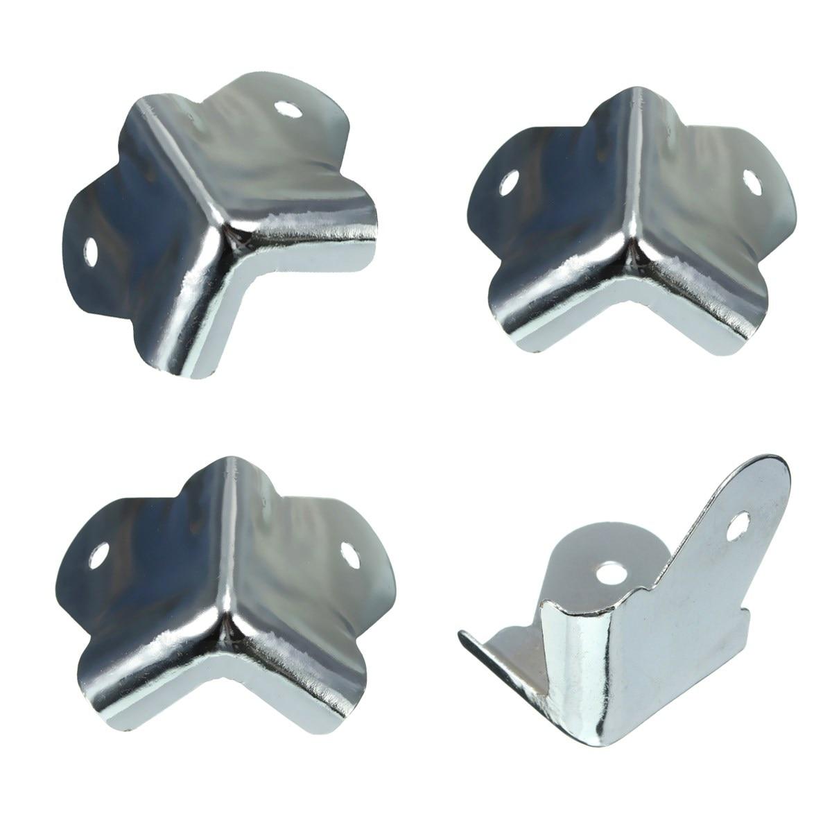 4 unid Durable acero inoxi-dable altavoces para envolver sonido clang proteger e