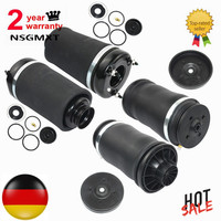 AP02 For Mercedes Benz ML/GL X164 W164 New Pair Front + Rear Air Ride Suspension Spring Bags 2005 2012 1643202213 1643204513