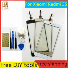 Free Tools+5 Inch New Touch Screen For Xiaomi Redmi 3S Glass Capacitive sensor For Xiaomi Redmi 3 S Touch Screen panel Black