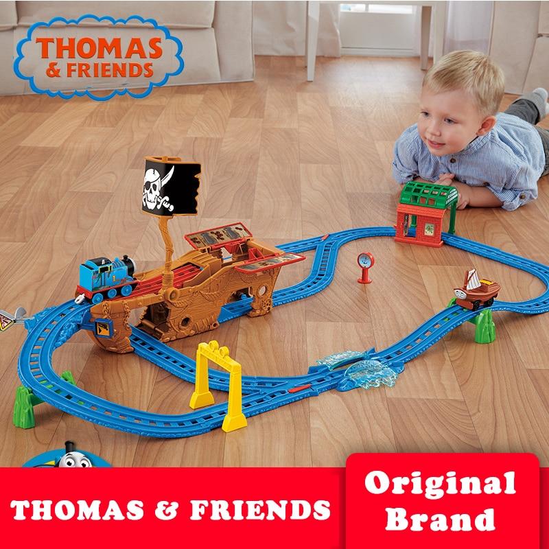 Genuine Thomas & Friends Rail Toy Building Diecast Brinquedos Train Track Accessories CDV11 For Children Birthday Gift