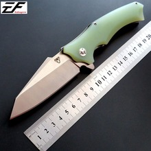 Hot sale Snake head  folding knife Imitate Medford Use 9cr steel +Hardness 59HRC ball bearing knives outdoor tool
