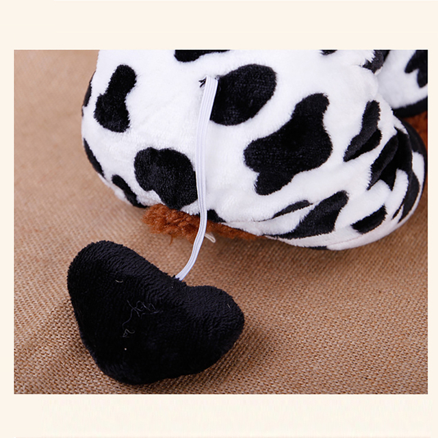 Cow Style Pet Dog Costume Warm Flannel Hoodies Outfit For Dog Winter Dog Clothes Puppy Jacket Clothes for Small Dog ropa perro 4