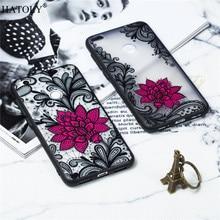 Huawei P8 Lite 2017 Case Huawei P8 Lite 2017 Cover TPU +PC Lace Rose Flower Case For Huawei P8 Lite Phone Cover Funda Bumper мити huawei p8 телефон дело huawei p8 помощи мультфильм изображение живописи кожа силикон 5 2 задник стоять флип