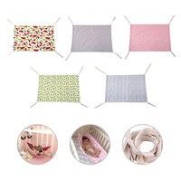 GT портативный детский безопасный гамак Детская уличная подвесная садовая качели 100*70 см хлопковая детская кроватка мебель для новорожденны...