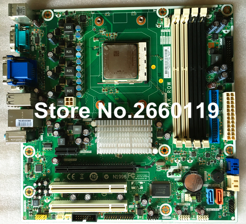 Desktop motherboard for HP PRO 3005 622477-001 system mainboard fully tested and perfect quality without cpu 865 motherboard disassemble 775 needle motherboard ddr1 fully integrated cpu small second hand 100% tested perfect quality