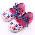 New Design 3 Colors Beautiful Shallow Lace-Up Newborn Infant Baby Shoes For Girls
