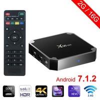 X96 Mini Android 7 1 2 TV BOX 2GB 16GB Andriod Tv Box Amlogic S905W Quad