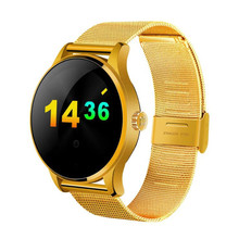 Smart Watch K88H Clock Sync Notifier Support Heart Bluetooth 4.0 Connectivity Pedometer For iphone Android iOS Phone Smartwatch