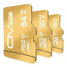 OV PRO 64GB 32GB 16GB micro SD card HC XC sdhc sdxc uhs-i UHS U3 2K 4K DSLR DSLM video memory card 16gb class10 cartao memoria