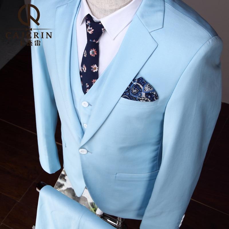 Pre Sale Mens Suits Wedding Groom Lastest Coat Pant Design 3 Pieces ...