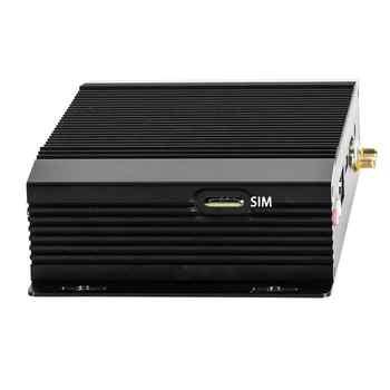 Fanless Industrial PC,Mini Computers,IPC,Windows 10,Intel J1900,[HUNSN BM18L],(VGA/HDMI/2LAN/2RS232 RS422 RS485/2USB3.0/4USB2.0)