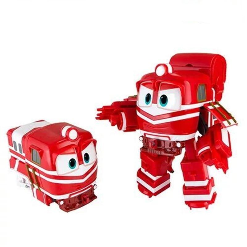 ՆՈՐ թեժ 4 հատ / հավաքածու 8 սմ ռոբոտի - Խաղային արձանիկներ - Լուսանկար 2