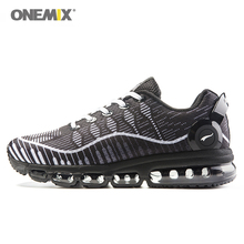 Onemix men's running shoes light mael walking sneakers breathable sports sneakers vamp anti-skid outdoor jogging shoes sales
